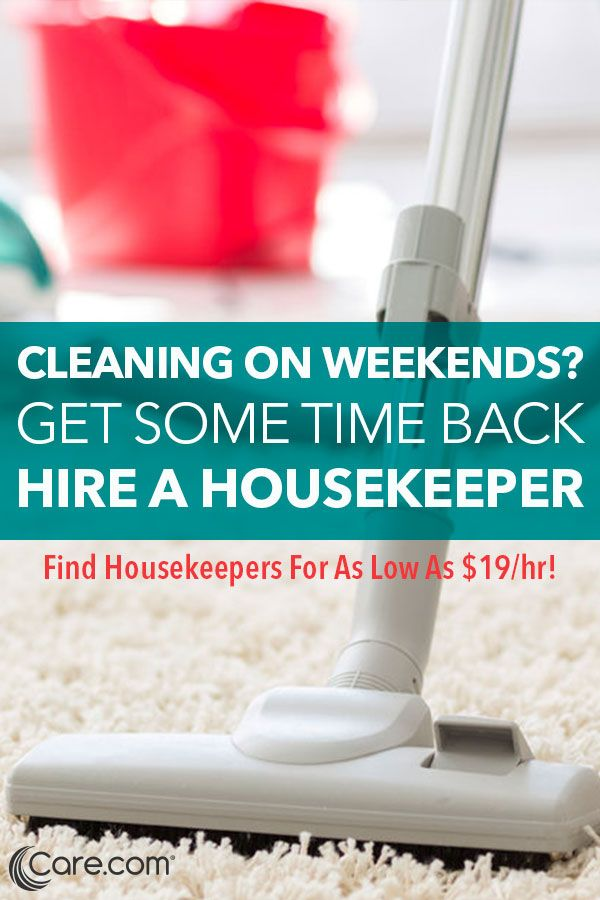 Life gets busy. Check everything off your to-do list with the help of Care.com. Getting a cleaning service is not only practical, it's a family lifesaver. Find great local housekeepers with Care.com, the world's largest online marketplace for finding reliable, qualified housekeepers. From bathrooms to bedrooms to everything in between, have your home cleaned without the hassle and find a housekeeper with Care.com today.