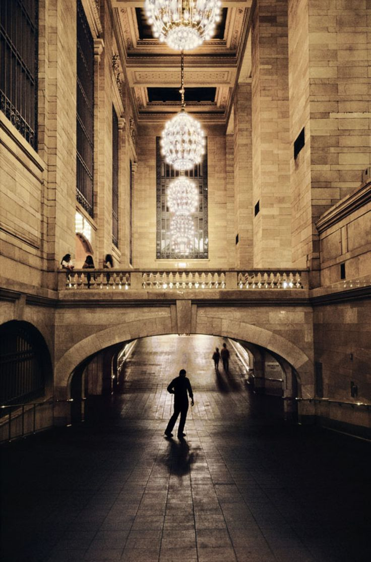 I Love NY. Steve McCurry, Grand Central Station. El arquitecto fue el valenciano…