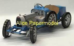 bugatti vintage toy car