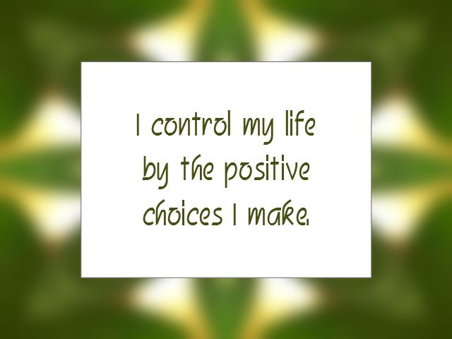 Daily Affirmation for May 7, 2014