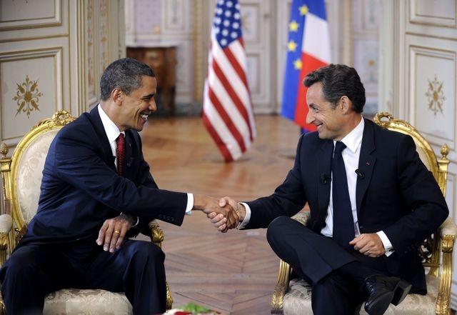 Le Pacte d'Amitié entre Sarkozy et Obama.