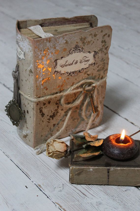 Rustic Barn Guest Book And Photo Album Fairytale Wedding Scrapbook