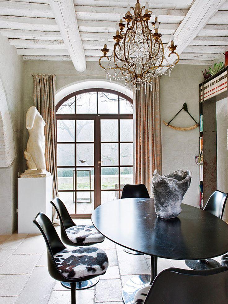 Elegant dining room, Wall Street Journal. http://www.facebook.com/kenisa.home