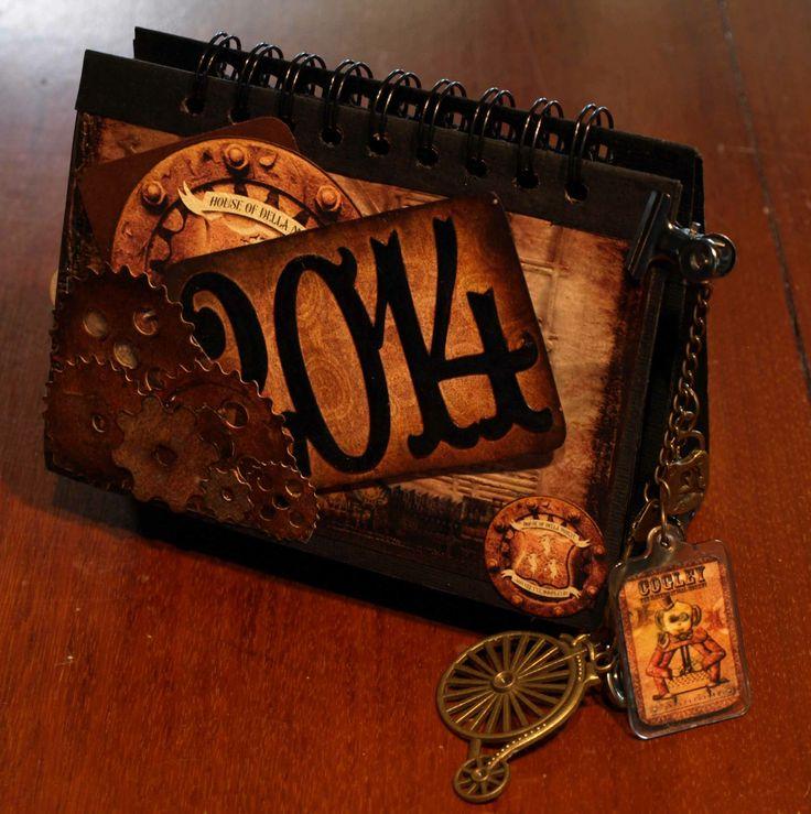 A Dellamortika Desk Calendar V2 cover.