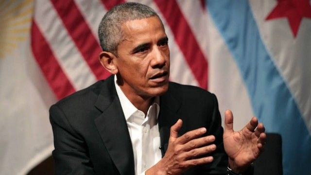 Obama warns against 'aggressive' nationalism, leaving Paris climate agreement