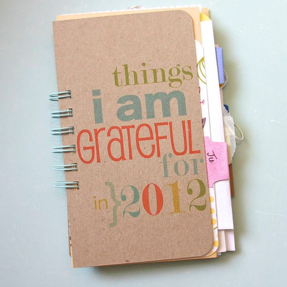 Gratitude Journal  Personal Journal  August  by iloveitall on Etsy, $22.00