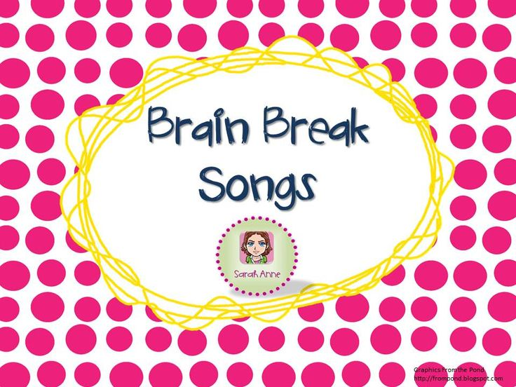 A collection of songs perfect for Brain Breaks in the classroom.