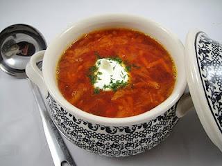 Borsch (Borscht) – Classical Russian Beet Soup- Борщ