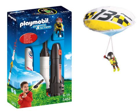 G. Willikers - Stuyvesant Plaza - This summer, you can combine your love for Playmobil and the outdoors with the new Playmobil Sports & Action figures! From launching rockets to parachuting, your new Playmobil figurines are ready for summer adventures!