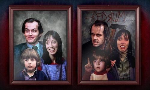 The Shining A Before And After The Overlook Hotel Peliculas De Miedo Terror Espeluznante Libros De Stephen King