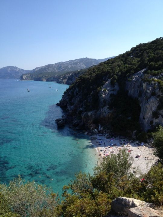 Cala Fuili nel Dorgali, Sardegna