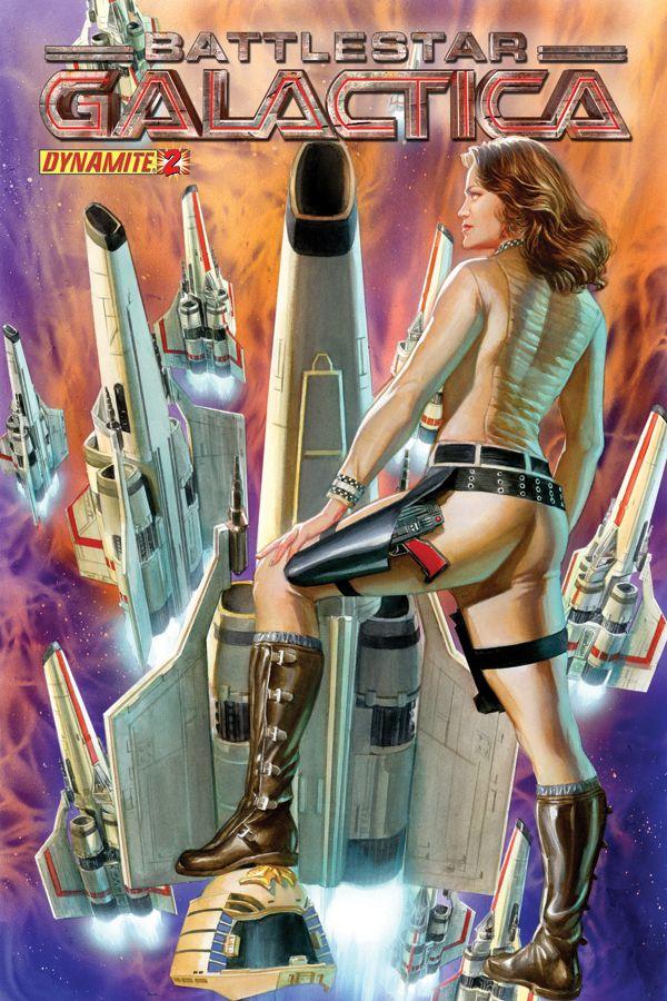 Battlestar Galactica by Alex Ross