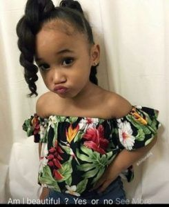 35 Natural Hairstyles for Black Girls #Natural #Hairstyles #Little #Black #Girls