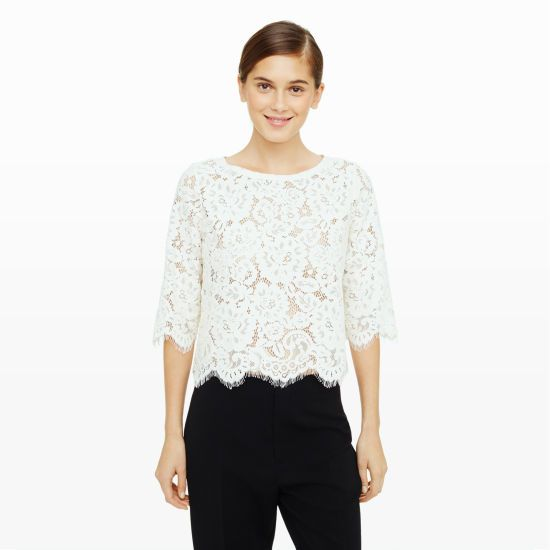 Club  Monaco - Leatrice top
