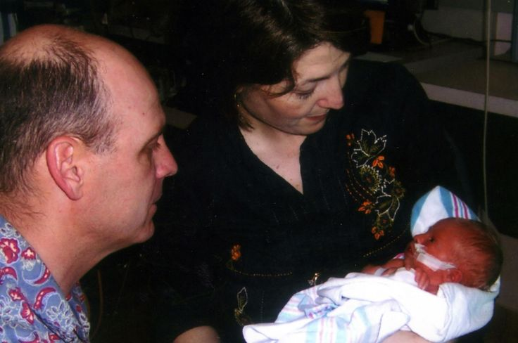 Cathy McMorris Rodgers is seen May 14, 2007,  holding her newborn baby, Cole, on his two-week birthday. The congresswoman wrote a column Thursday in the Washington Post about her son and the reasoning behind her health care vote. (COURTESY JILL STRAIT / Courtesy of Jill Strait)