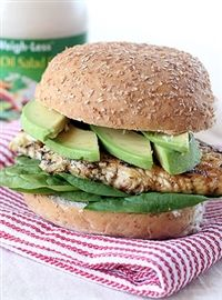 Weigh-Less Online - Avo And Thyme Chicken Burgers