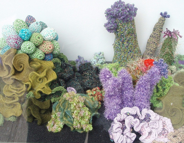 Freeform Crochet Coral Reef
