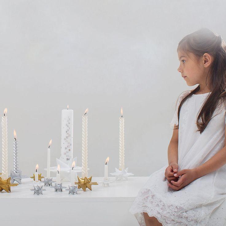 Beutiful Star Candleholders <3 #MedusaCopenhagen #Christmas #ChristmasDecor