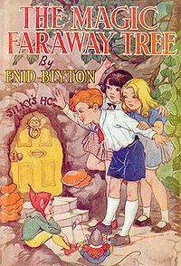 Much of my childhood was spent with my head up in the clouds above the Faraway tree .. thanks to this series by Enid Blyton.  Even as an adult I harbored fantasies of creating a Magic Faraway Tree theme park.