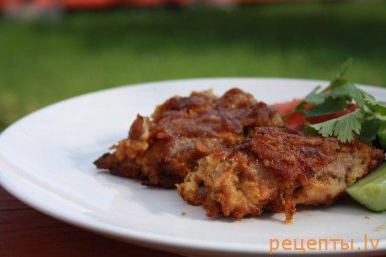 Телятина с пармезаном - быстрое блюдо