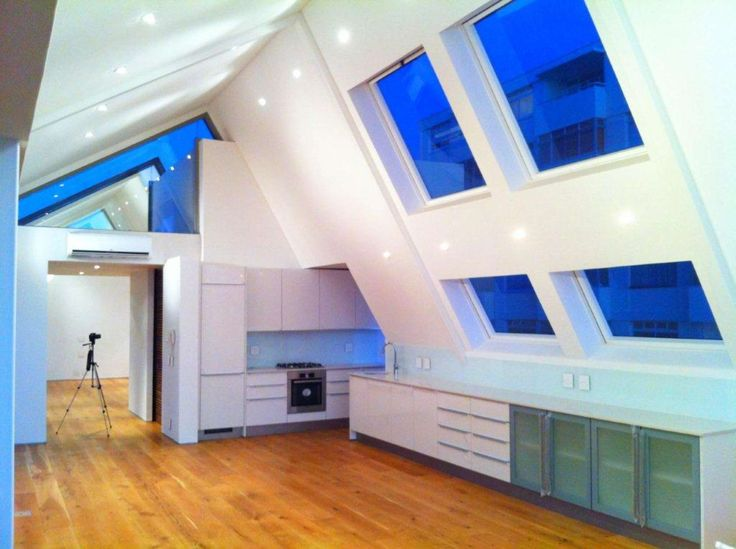 Penthouse blues by Tony Sandell Roof Windows. #capetown #TSRW #skylights