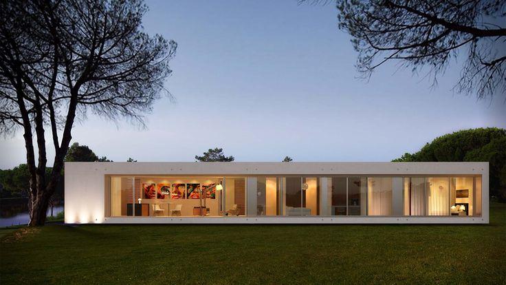 Integra house white by http://kadima.es