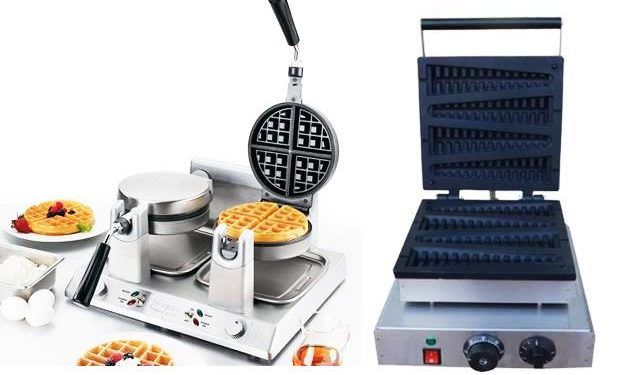 Commercial Waffle Maker Kitchen Equipment