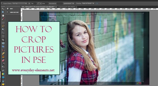 How to crop pictures in Photoshop Elements via @amandapadgett