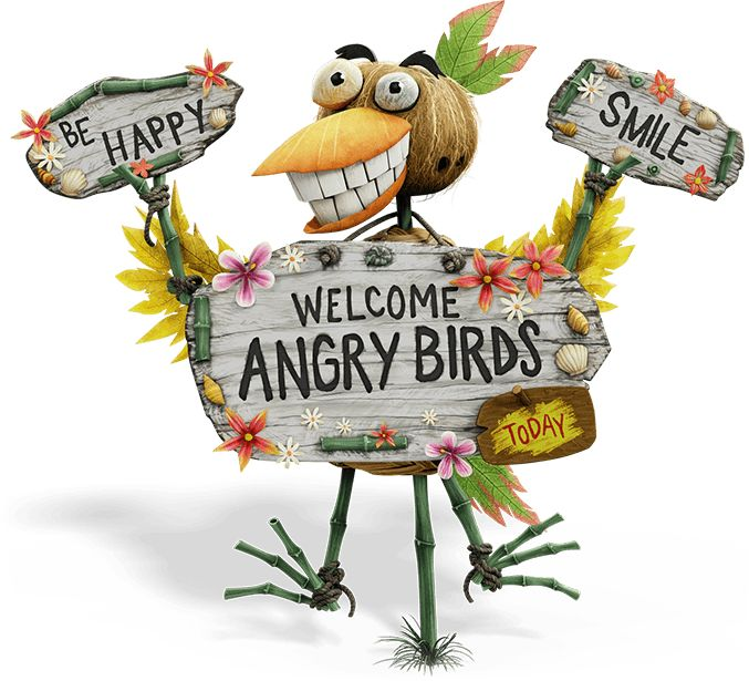Welcome Angry Birds