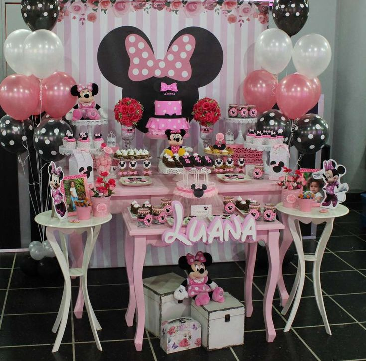 Minnie Mouse Birthday Party Ideas | Photo 2 of 15