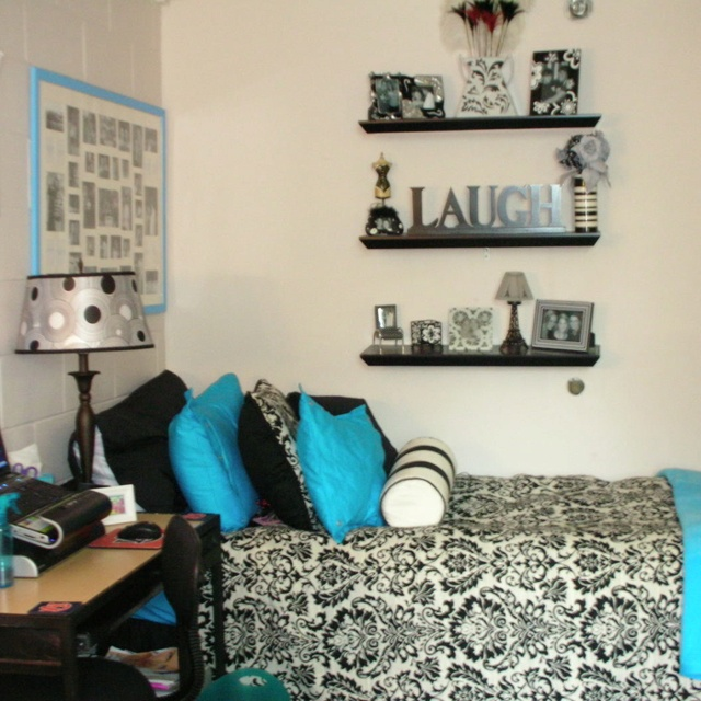 Beautiful Dorm Room! Except With Pink Instead Of Blue! Part 30