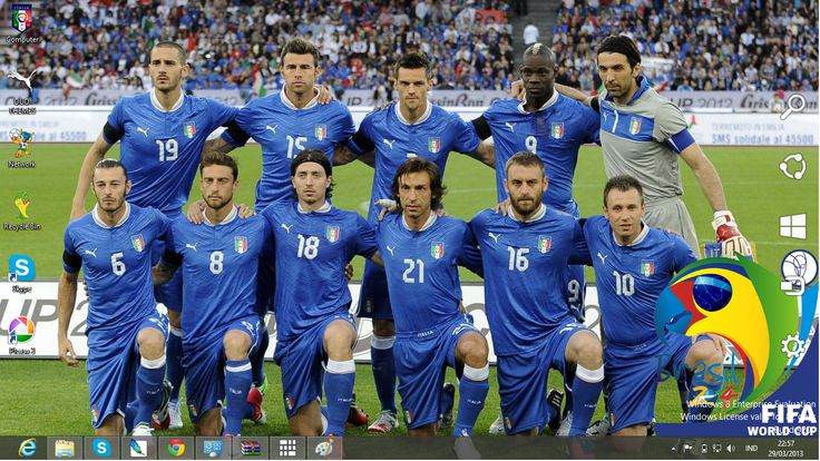 FIFA World Cup 2014 Teams | Italy National Football Team