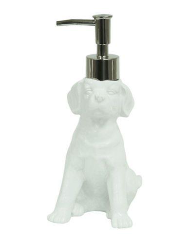 Home   Home    Labrador Dog Ceramic Lotion Dispenser   Hudson's Bay