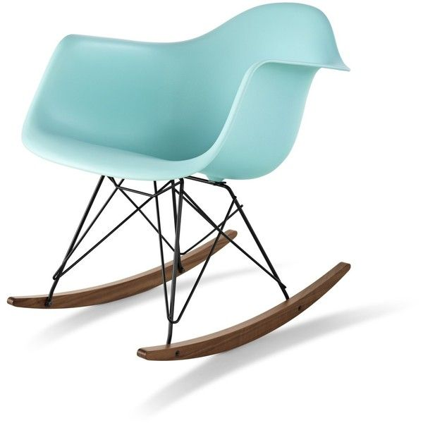Herman Miller Eames RAR Molded Plastic Rocking Chair found on Polyvore