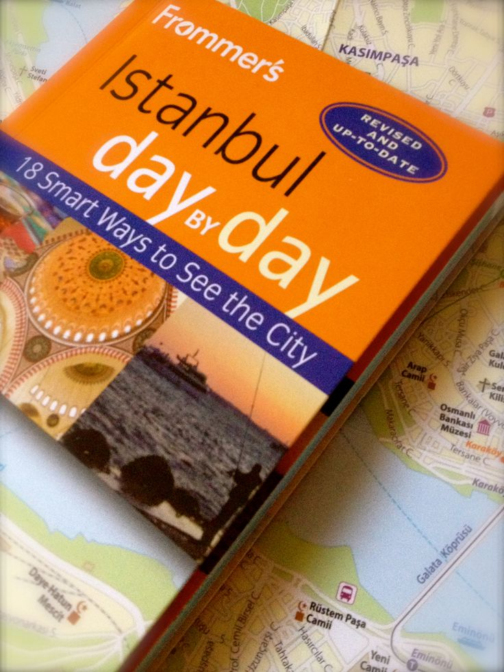 Ooh! we're in a guidebook - our first one - and it's Frommer's Istanbul 2015 day by day, recommended • the maximum 3 stars for our Pasha Place apartment: come and stay :)