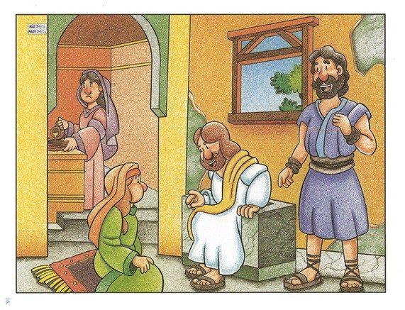Aula Bíblica Pre Primarios Jesus E Lazaro 001