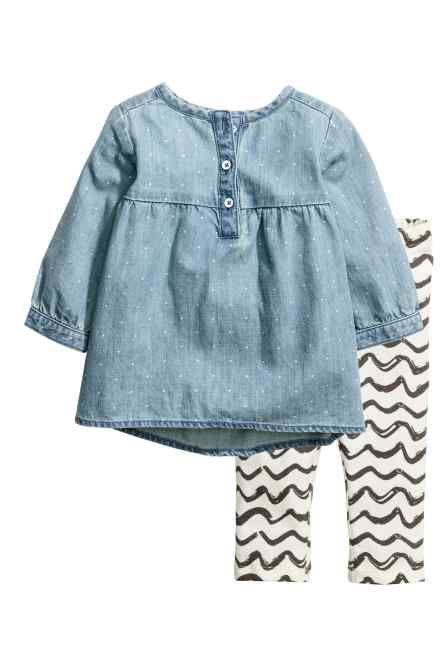 Ruha és legging #babygirloutfits