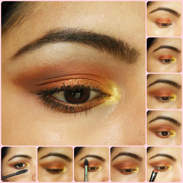 Eye Makeup Tutorial: Warm Copper Smokey Eyes Hello Dolls, Today I will be sharing one of my favorite wearable eye makeup look which is a bright warm copper