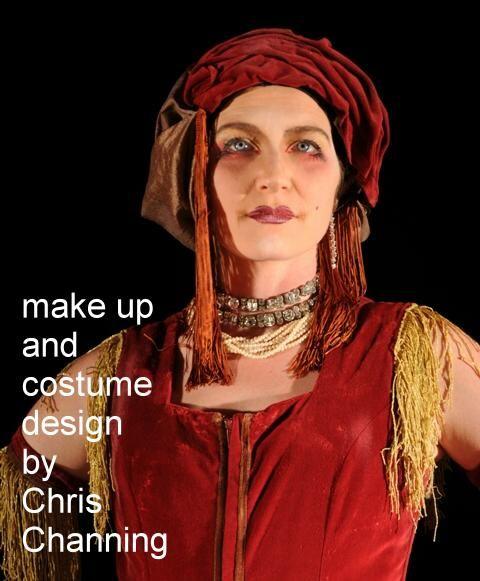 Chris Channing costume design