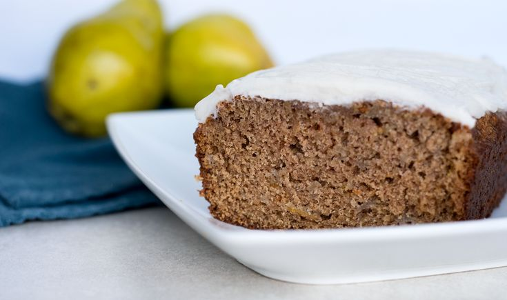 "This recipe is adapted from one found on Smitten Kitchen (one of our favorite recipe sources!) but this one is more of a cake than a ""bread"". Let's be honest, treats like banana bread and even pear bread are better classified as a cake anyway due to high sugar content. That, plus the addition of …"