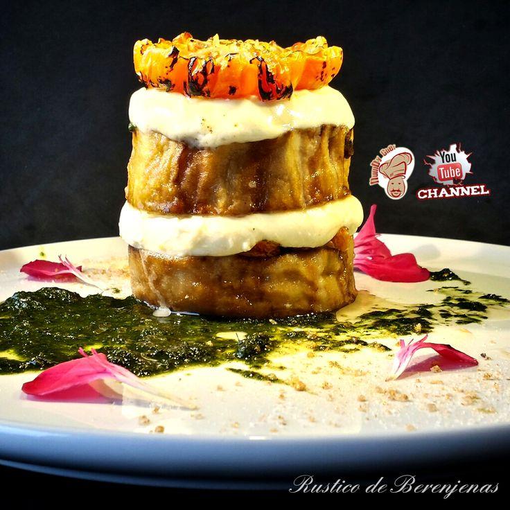 #RUSTICO de #BERENJENAS | HumbyChef España  Queridos amigos hoy presento un #plato revisitado por mi,donde los #sabores de los #vegetales producidos en la tierra de #Almeria, #España...  #Libre de #Gluten. #Excelente #SegundoPlato... #Evaluación ♨♨♨♨♨  ¡¡¡ Muy pronto la #receta !!!  Más información en mi #web... humbychef.wixsite.com/es…/sin-gluten-1/rustico-de-berenjenas  #ComanBienYSeanFelices... #HumbyChef  Y si quieres ver mis #videorecetas…