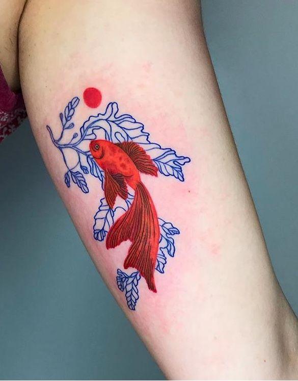 Patricia Shim Fish Tattoo Tattoo Styles Tattoos Cool Tattoos