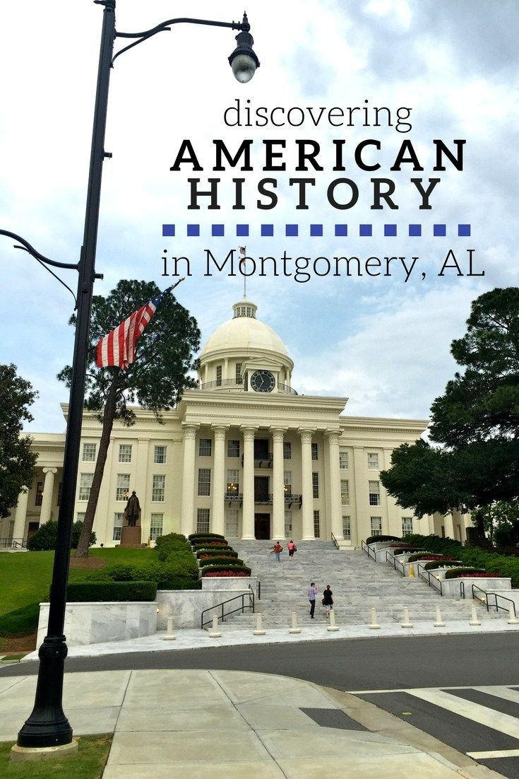 Some of America's most important historic moments have happened in Montgomery, Alabama. Don't miss these spots on your next trip to the south!
