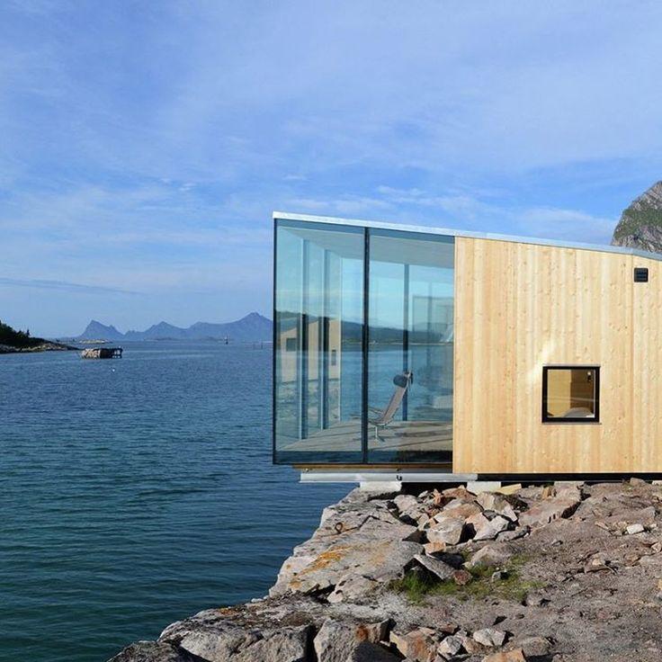 Manshausen Island Resort in Steigen, Norway, designed by Stinessen Architects. (Photo:Siggen Stinessen)  #SurfaceTravel #Design #Architecture #ManhausenIslandResort #SurfaceMag