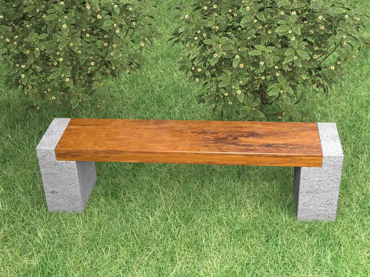 Inspiration for hypertufa and wood bench I want to make this weekend!