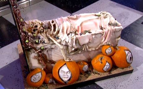 food network halloween wars video