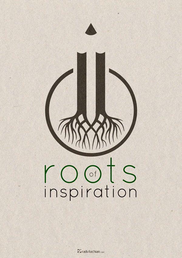 Roots of inspiration by Radu Luchian, via Behance