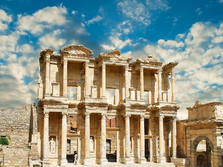The Celsus Library, near Kusadasi, Turkey