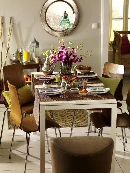 60 best images about deko zum fr hst ck on pinterest wooden chairs taschen and warm - Orientalische tischdeko ...