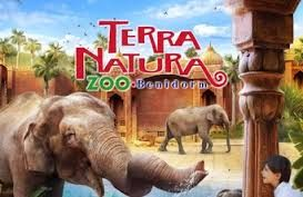 Terra Natura Zoo is a fantastic waterpark in the outskirts of Benidorm